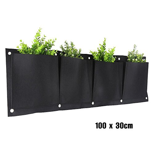 Vert Mur Planteur Vertical Suspendu Grow Sac Balcon Jardin Eco Friendly Grower