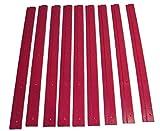 5 Schienen für Stapelbox Gr. 1, Wandleiste, Befestigungsschiene