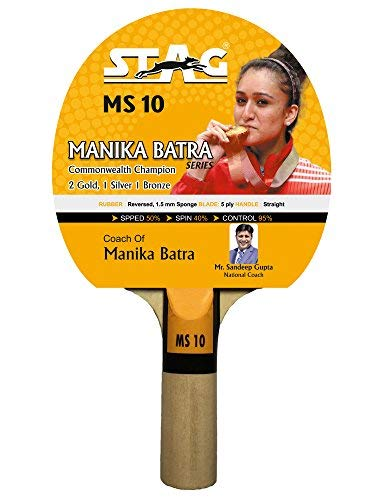Stag Manika Batra MS-10 Table Tennis Racquet