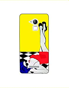 coolpad note 3 lite nkt03 (307) Mobile Case by LEADER