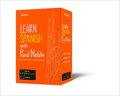 Learn Spanish with Paul Noble – Complete Course: Spanish made easy with your personal language coach (Collins Easy Learning)