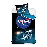 NASA Astronaut Bedding Set Single Duvet Cover 140 x 200cm 100% Cotton