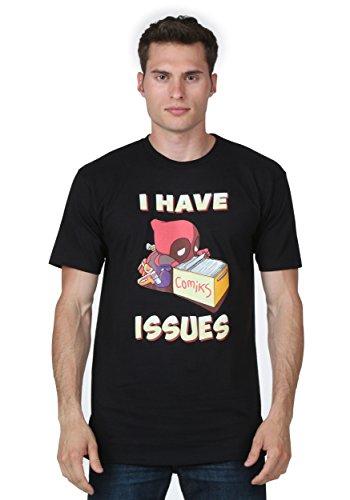 eadpool I Have Fragen T-Shirt (Deadpool Jungen Kostüm)