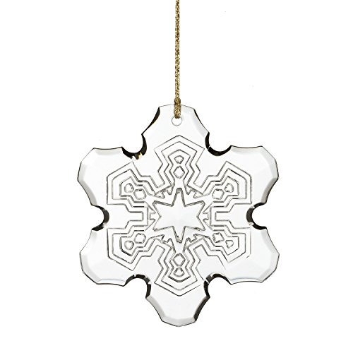 Waterford Marquis Annual Snowflake Glass Christmas Ornament Marquis Von Waterford