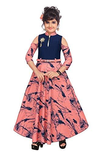 ARK DRESSES Girls' Maxi Dress.