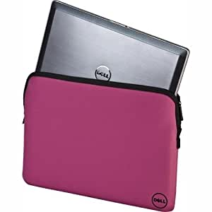 """Dell 15.6"""" Professional Quality 15.6"""" Laptop Sleeve / Laptop Bag in Pink"""