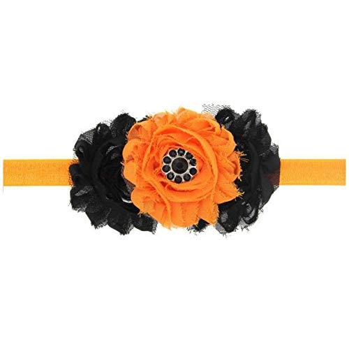 TOPGKD beliebt Baby Girl Halloween Kopfschmuck elastisches Haarband ODERIns umsatzstark(Orange) (Baby Bee Kostüme)