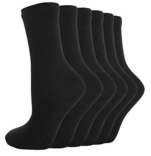 bay6-lot-de-6-paires-chaussettes-arriere-a-lecole-pour-garcons-filles-noir-uni-blanc-gris-bleu-marin