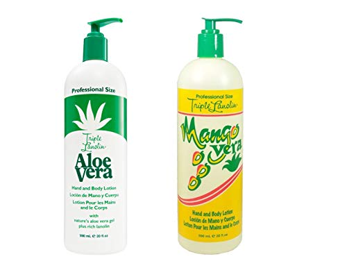 Triple Lanolin Mango und Aloe Vera Hand und Body Lotion 590ml -
