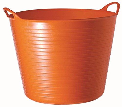 Decco Ltd Cubo Flexible, Naranja, 26 litros