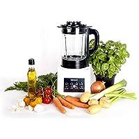 Duronic BL89 Batidora Americana de Vaso con Función para Sopas Máquina para Sopas Eléctrica Robot Cocina