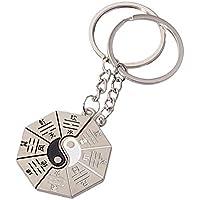 Meilleur Amis Yin Yang Porte-clés pour Amis dans Amulette