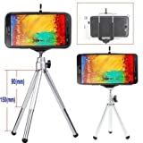 #7: Techlife Brand - Aluminum Mini Tripod For iphone , Samsung & all other Mobiles and Digital Camaras - High Quality