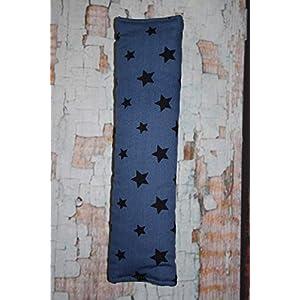 Auto Gurtpolster für Kinder und Erwachsene blau mit Sternen Stars Sternchen