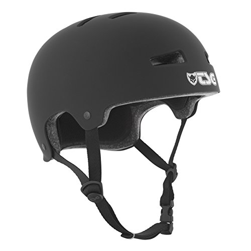 TSG Helm Evolution Solid Color, Schwarz (Flat-Black), L/XL, 75046
