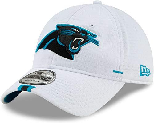 New Era - NFL Carolina Panthers On Field 2019 Training 9Twenty Cap - Weiß Größe One Size
