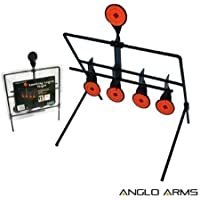 Swinging Resetting Target 4+1 Idea For Airsoft Pistol BB