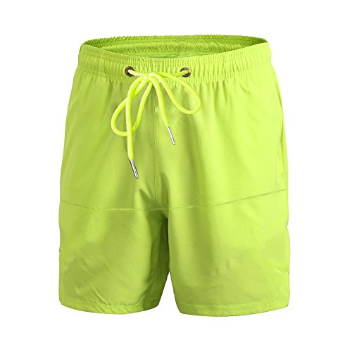 Junshan shorts Trainingsshorts kurze Hose für Herren Grün