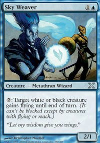 Magic: the Gathering - Sky Weaver (109/383) - Tenth Edition - Foil by Magic: the Gathering