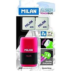 Milan - Blister afilaborra Compact Touch + 2 Gomas 430