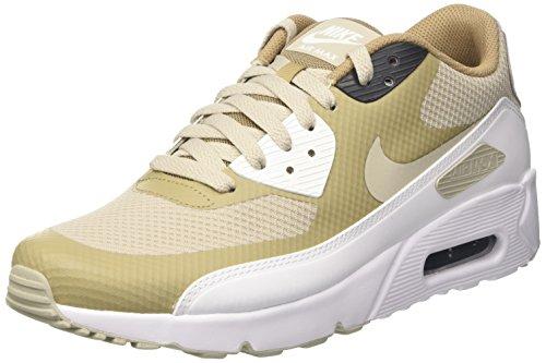 Nike Herren Air Max 90 Ultra 2.0 Essential Turnschuhe, Beige (Pale Grey/Pale Grey/Khaki/White), 45 EU (High-top Nike-turnschuhe Für Männer)