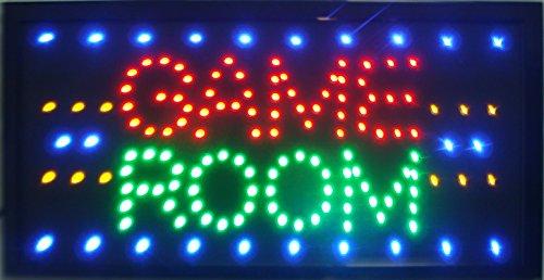 CHENXI Game Room/Billard/GIOCO Poker/Golf Sport Entertainment LED Business Store Neon Display 48,3x 25,4cm (48x 25cm) Innenbereich Modern 48 X 25 cm Game Room