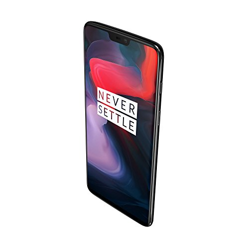 Oneplus 6 Smartphone (15,95 Cm (6,28 Zoll) 19:9 Touch-display, 128 Gb Interner Speicher, Android 8.1 Oreooxygen Os 5.1), Mirror Black