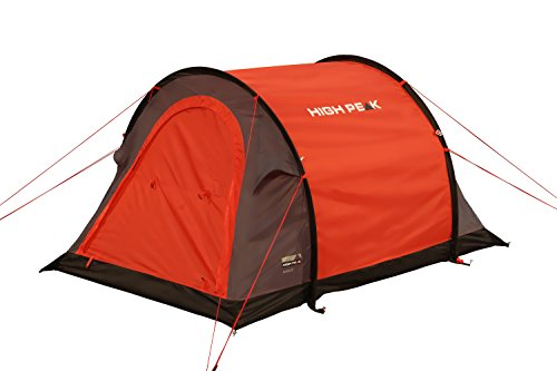 High Peak Pop Up Zelt Stella 2, Rot/Grau/Schwarz, 10109 -