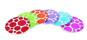 Munchkin Non-Slip Grippy Dots, (Hot Detection Technology, Designed for Toddlers) - Pack of 6
