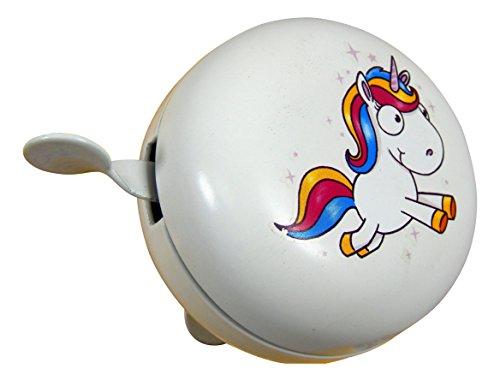 Campana de metal unicornio