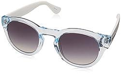 Havaianas Trancoso/m Round Sunglasses, Cry White, 49 mm