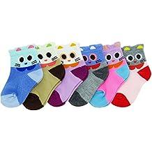 NeskaModa Unisex Regular Fit Socks (Pack of 6)(Neska Moda_Multicolor_0-24 Month)