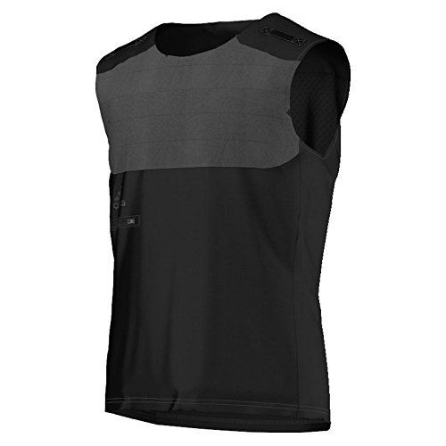 Maglietta da allenamento da uomo adidas Adistar VIZ Vest, Nero, XXL, S90978 Nero - nero