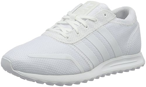 adidas Los Angeles, Baskets Basses Mixte Adulte Blanc (Ftwr White/Ftwr White/Ftwr White)