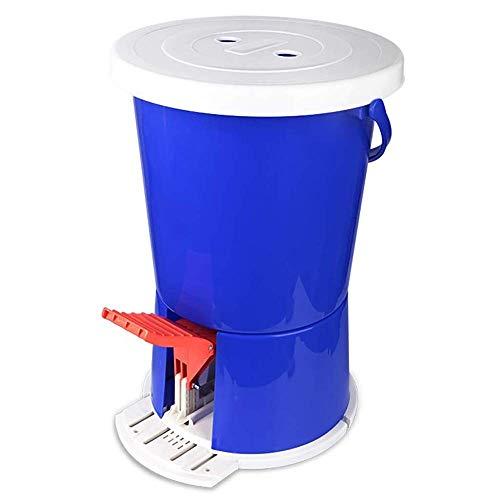 HAMMER Tragbares Outdoor-Trockner, Fitness Pedal Waschmaschine, Mini-Waschmaschine, Fuß Waschmaschine, Studentenwohnheim Wäsche (34L × 34W × 50H (cm))