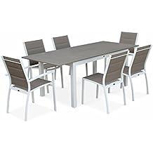 Amazonfr Table De Jardin Extensible