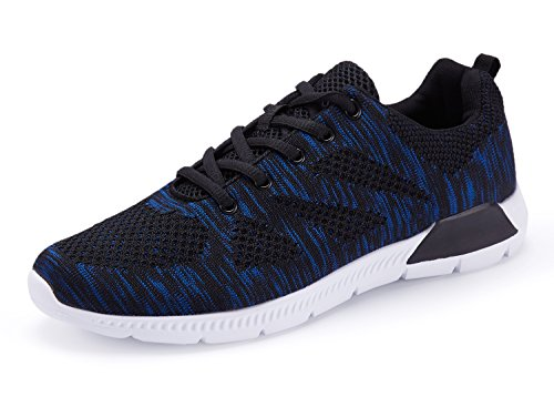 KaLeido Men's Lightweight Gym Walking Cross-Training Fitness Sports Running Shoes (9.5 UK,...