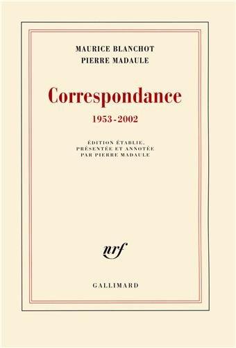 Correspondance 1953 2002 [Pdf/ePub] eBook