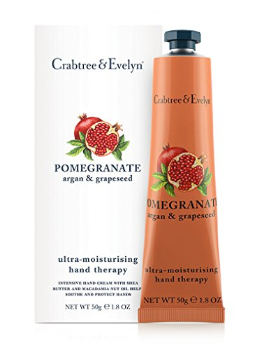 Crabtree & Evelyn Pomegranate, argan and grapeseed ultra-moisturizing hand therapy, 1er Pack (1 x 50 g) -