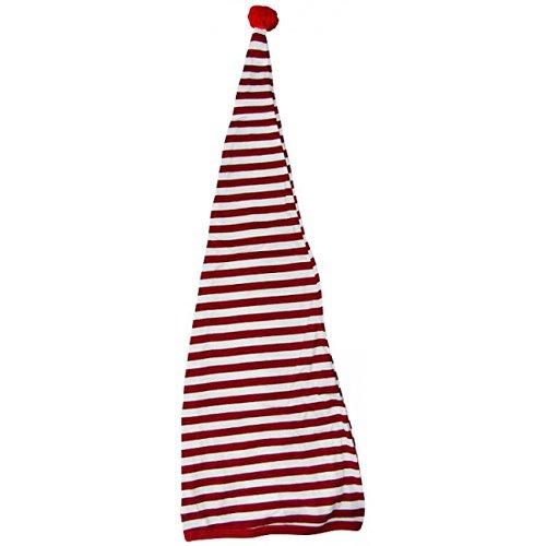Berretto da Notte cappello da nano nani Taglia unica - rosso