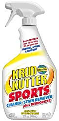 KRUD KUTTER Sports Cleaner for Fabric Stain Remover Plus Deodorizer, 946 ml Spray