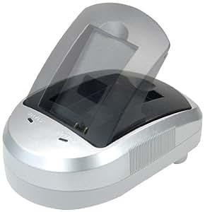 Blumax Set chargeur Base chargeur voiture Pour Canon NB-5L / CB-2LX / CB-2LXE 12V 12V (Import Allemagne)