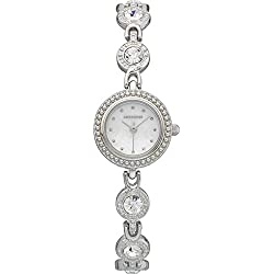 Monsoon Ladies Diamante Watch & Bracelet Set