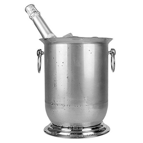 304 edelstählen champagner - kübel, eiskübel, bierfass, 5 liter champagner - becken.