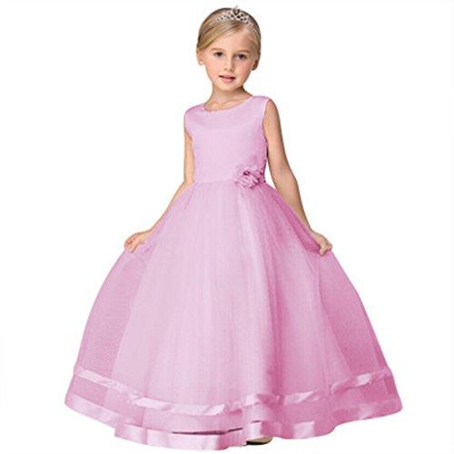 Elistelle Prinzessin Kleider Mädchen Partei Kostüm Armlos Rock (Playwear Kostüme)
