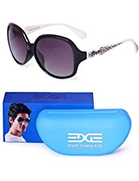 Edge Oval Sunglasses For Women UV Protected Shades, Goggles For Girls