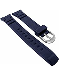 Calypso Reloj de pulsera banda de plástico de repuesto para todos los modelos K5669, colores: azul oscuro