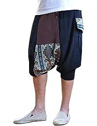 bonzaai sarouel femme mode hippie pantalon de yoga Extravagant
