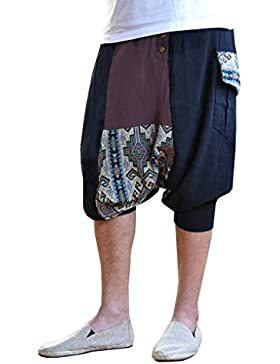 virblatt pantaloni alla turca etnici per l'uomo e per la donna stile harem -Sorgenfrei