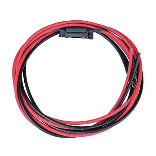 Este par de Single Core kits de 3M cables de carga solar se puede utilizar como una batería cable entre el controlador de carga solar y su batería, o para muchas otras aplicaciones; como en vehículos, barcos o para fines de cableado general. El cabl...